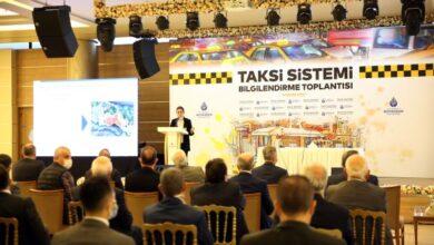 İBB'nin yeni taksi yönetim modeli anlatıldı.